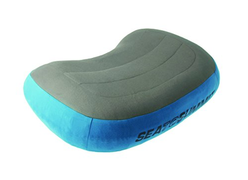 Sea to Summit Aeros Pillow Premium (Regular/Blue) (Best Lightweight Backpacking Pillow)