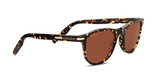 Serengeti Eyewear Sunglasses Andrea 8689 Honey Tortoise Polarize Drivers - Andrea Sunglasses