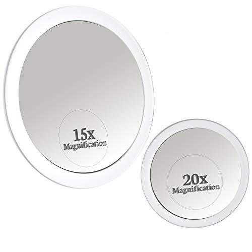 20X 15X Magnifying Mirror