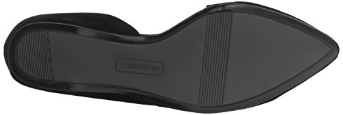 Toe Black Flat Pointed Samantha Women's Naturalizer TAZRgR