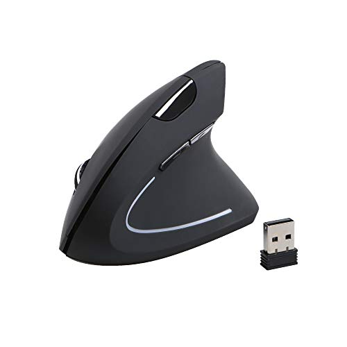 Gelid Solutions APEX Wireless Vertikale Maus - Ergonomische Form - Wireless 2.4G - 3 DPI-Modi - Weiter/Zurück-Tasten - Plug-n-Play