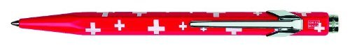 Caran D'ache Essentially Swiss Collection Ballpoint Pen Swiss Flag (849.253)