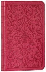 ESV Compact Bible Floral Wild Rasberry (Complete Bible)