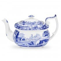 - Spode Blue Italian Teapot