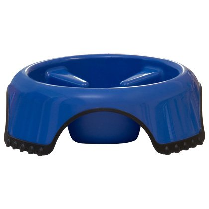 Slow Feed Non-Skid Dog Bowl Large ()