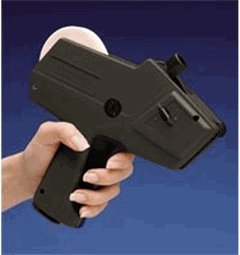 Gun Line Labels (Monarch 1110, 1-Line Pricing Gun, Black)