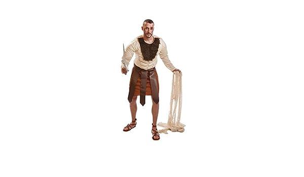 Disfraz de Gladiador Romano Forzudo para hombre: Amazon.es ...