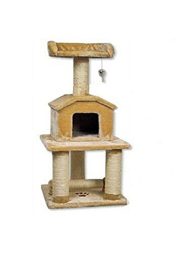 go-pet-club-45-tall-beige-cat-scratcher-cottage