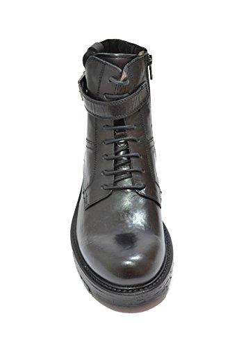 Nero scarpe uomo Polacchini anfibi Giardini A604661U nero 4661 rwWqarSZX