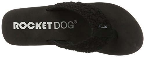 Negro Mujer Rocket Dog Chanclas para Black Aviara Stapleton wXPzI