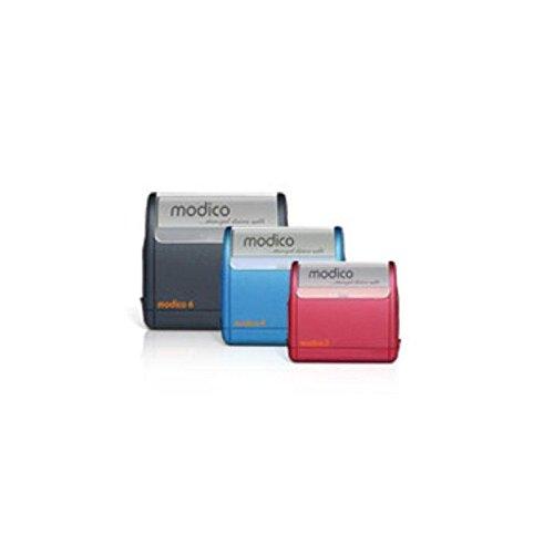 Timbro modico autoinchiostrante con gommina fino a 10 righe personalizzata inclusa 36x68 Agendepoint.it