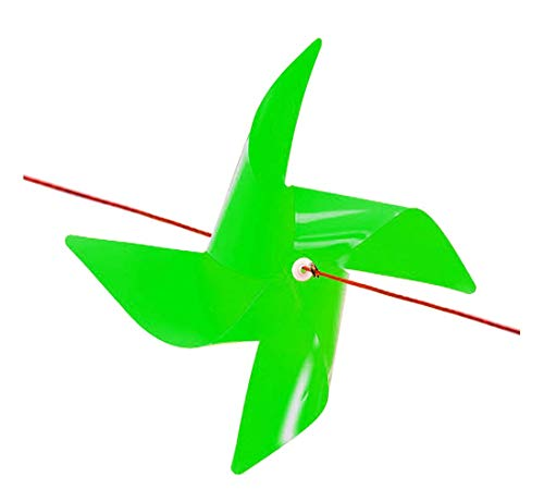 - GeniusCells 100 pcs Large Plastic Pinwheels for Yard and Garden Decorative Moving Wind Spinners Hanging Pinwheels for Farm Garden Protector 9.5