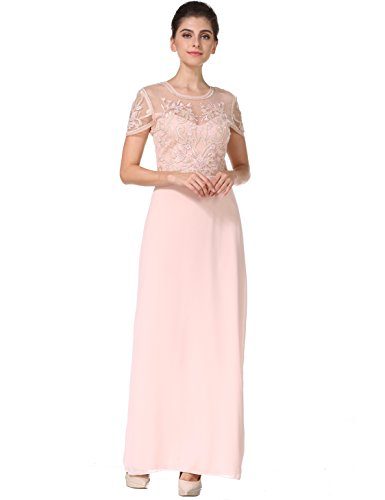 beaded dress long - 4