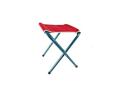 Kikkerland Retro Folding Stool, Red by Kikkerland