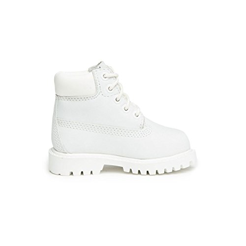 Timberland 6 Inch Waterproof Toddler Boots White a1mlt (12 M US) (Toddler White Timberland)