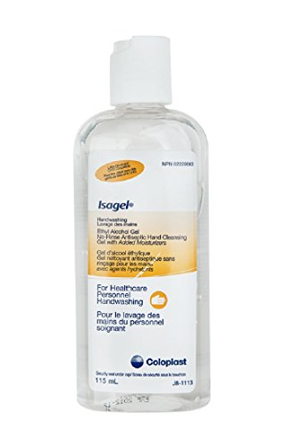 Special 1 Pack of 10 - Isagel No-rinse Instant Hand Sanitizing Gel COL1644A COLOPLAST CORPORATION (No Rinse Hand Sanitizer)