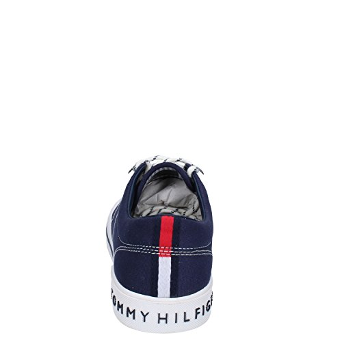 Hombre Para Tommy Iconic Hilfiger Zapatillas Sneaker Navy Slip On HvZw0vqB