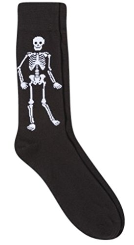 Mossimo Supply Co. Mens Stretch Crew Socks Skeleton Novelty Socks