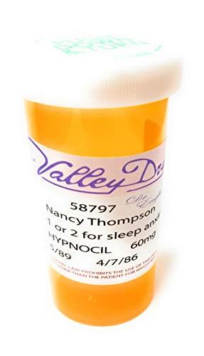 Street Prop Elm - Nightmare on Elm Street Prop Replica - Nancy Thompson Hypnocil Prescription Bottle