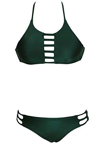 erdbeerloft - Conjunto - para mujer verde oscuro