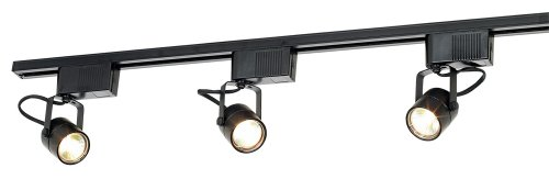 Pro Track Black 150 Watt 3-Light Low Voltage Track Kit
