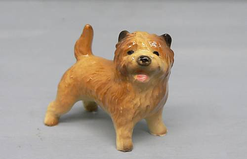 Collectible Dog Figurine (CAIRN TERRIER Red Dog Stands Charlie MINIATURE Figurine Ceramic HAGEN-RENAKER 3290 by Eyedeal Figurines)
