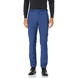 Best Epic Trends 31f3v8yIuIL._SS300_ Perry Ellis Men's Very Slim Fit Stretch Plaid Suit Pant