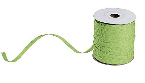 (Jungle Green Matte Raffia - 100 Yds Per Roll - 5 Pack)