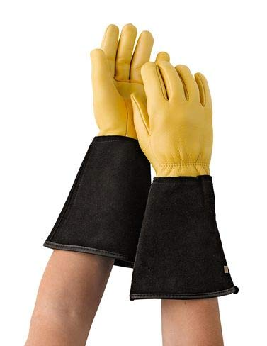 (Gold Leaf Tough Touch Gloves - Ladies)
