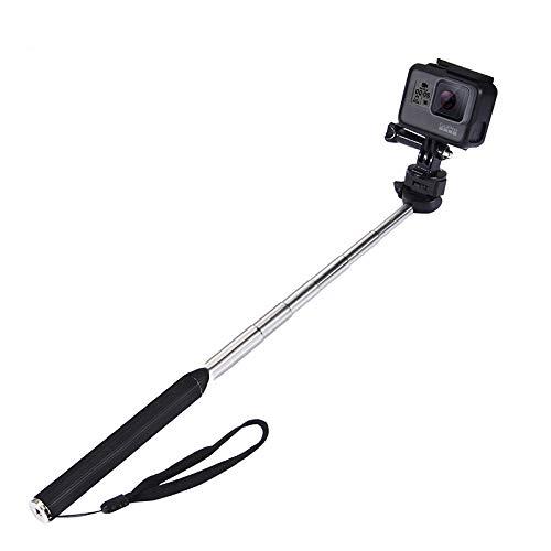 Hand Grip Adjustable Extension Selfie Stick Handheld Monopod for GeekPro/GoPro HD Hero 6 5 4 3+ 3 2 1, AKASO, SJCAM SJ4000 SJ5000 Xiaomi Yi (01)