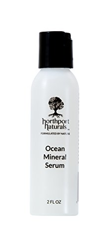 Premium Ocean Mineral Serum By Northport Naturals - Organic Natural Complete Skin Care Product - Strong Anti-Aging Rejuvenation Formula - Vegan & Cruelty-Free Certified