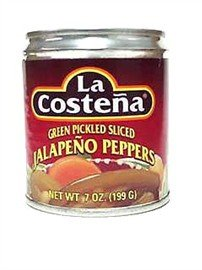 La Costena Pepper Jalapeno Sliced, 7 oz (La Costena Jalapeno)