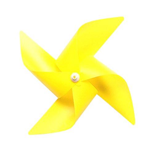 Yellow Pinwheel - 1