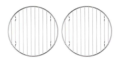 Mrs. Andersons Baking 43193 Mrs. Andersons Baking Professional Round Baking and Cooling Rack, 6-Inches, Set of 2