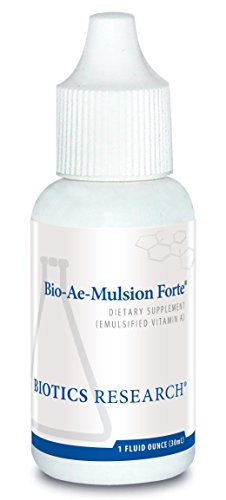 Biotics Research Bio-Ae-Mulsion Forte ® – 12,500 IU Emulsified Vitamin A for Greater Uptake & Utilization, Concentrated, Promotes Immune Response, Aids in Visual Acuity, Support Cardiovascular 1Fl