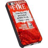 (NEW TACO BELL SAUCE FIRE for Iphone Case (iPhone 5/5S black))