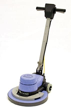 "NaceCare NA20 Structural Foam Single Speed Floor Machine, 20"" Brush, 175 rpm, 2 Gallon Capacity, 1.5HP, 50' Power Cord Length"