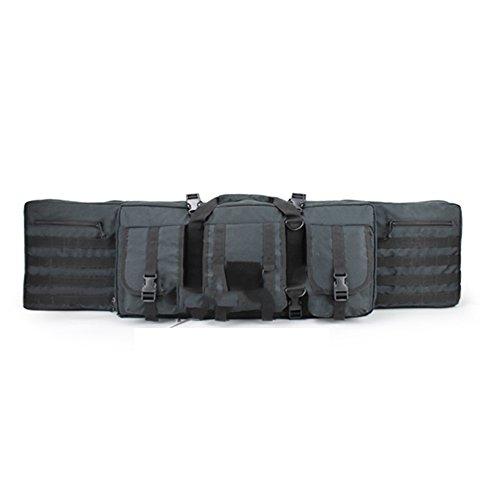 AIRSOFT Gewehr Gun Bag Dual cabeen funktionelle Tasche Tactical Airsoft Fall htuk® schwarz 3myS0yfKT6