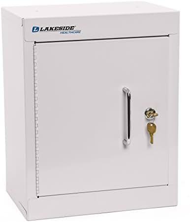 Lakeside LNC-6D Narcotic Cabinet; Double Door, Double Lock