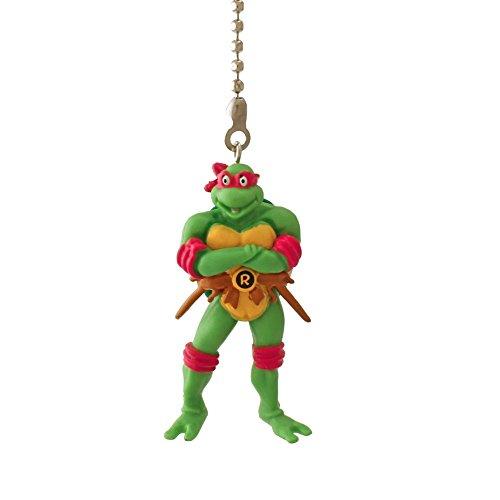 Teenage Mutant Ninja Turtles Figure Ceiling FAN PULL light chain (RAPHAEL - red ()
