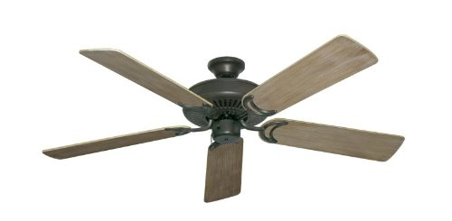 Riviera Traditional Ceiling Fan - Riviera Coastal Decor Ceiling Fan in Oil Rubbed Bronze with 52