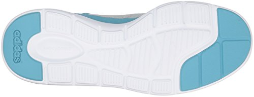 Adidas Neo Donna Cloudfoam Xpression Casual Sneaker Vapor Blu / Blu Zest Bianco