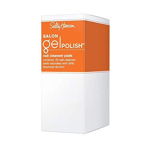 - Sally Hansen Salon Pro Gel Cleanser, 20 Count