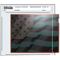 Print File Negative Pages Holds One 4'' X 5'' Sleeved Negative or Transparency, Pack of 100 by Print File