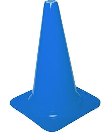 23 cm altura Cawila Cono de se/ñalizaci/ón azul