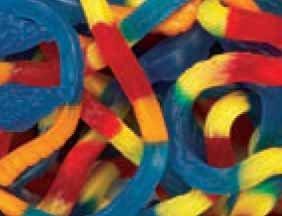 Giant Gummi Gummy Snakes Candy 5 Pound Bag (Bulk)