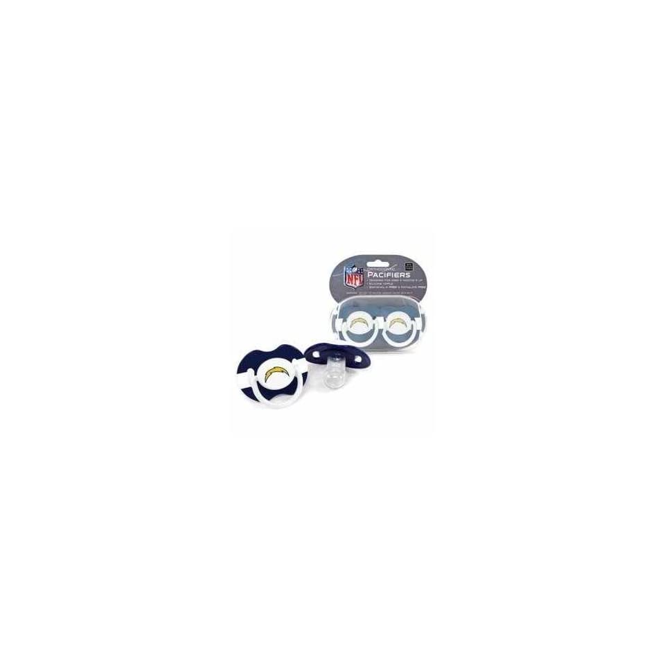 San Diego Chargers NFL Baby Pacifiers (Set of 2)