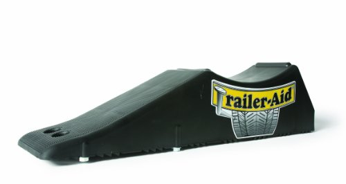 Trailer-Aid Tandem Tire Changing Ramp, The Fast and Easy Way To Change A Trailer's Flat Tire, Holds up to 15,000 Pounds, 4.5 Inch Lift (Black) (Step Trailer Horse)