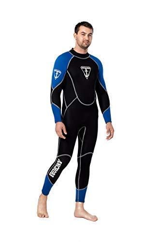 Anchora Men's Scuba Diving Full Wetsuit (Black), No Color, Size X-Large (Wet Suit For Men Scuba)