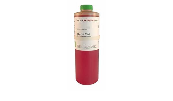 004 Phenol Red Ph Indicator Solution 500ml Amazon